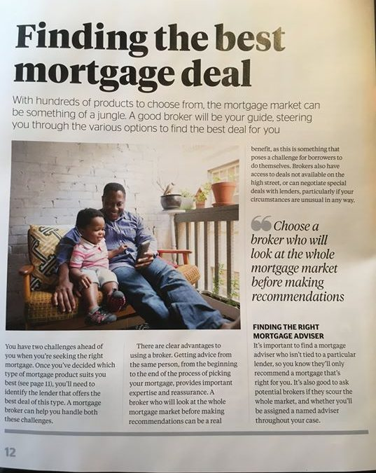 An article written by Which magazine on choosing a Mortgage Broker….  Whole of…